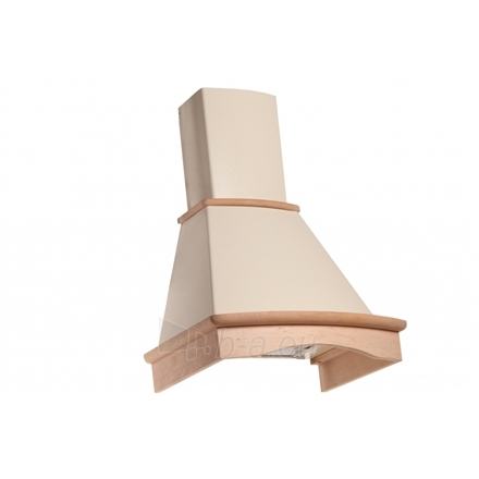 Garų surinktuvas Eleyus Tempo H 750 60 N, Ivory with not colored wood Wall hood Paveikslėlis 1 iš 10 2501130000816