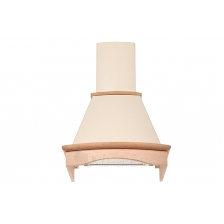 Garų surinktuvas Eleyus Tempo H 750 60 N, Ivory with not colored wood Wall hood Paveikslėlis 9 iš 10 2501130000816