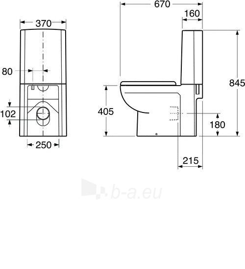 GB114310301231 4310 ARTIC DUO, clozet with SC cover Paveikslėlis 2 iš 5 270713001157
