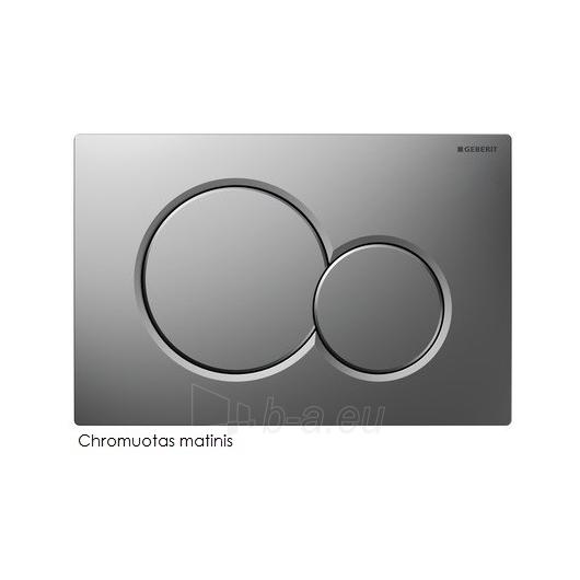 Geberit Sigma01 nuleidimo mygtukas, chromuotas Paveikslėlis 1 iš 2 270717000986
