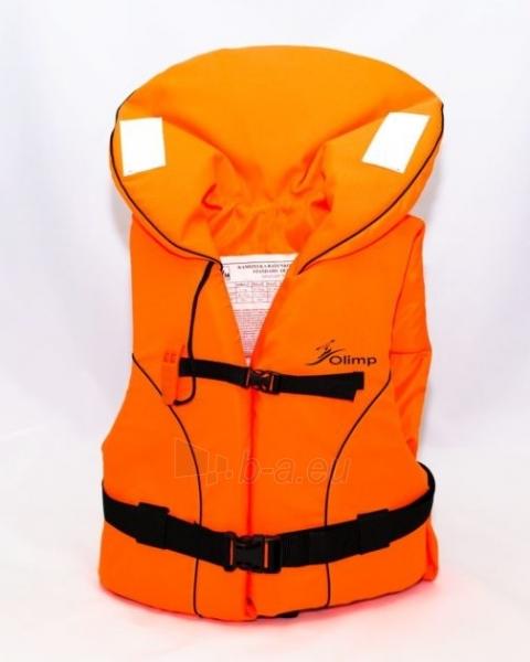 Gelbėjimosi liemenė Olimp 100N 70+ кг, OL-ORANGE-XXL Paveikslėlis 1 iš 1 310820249538