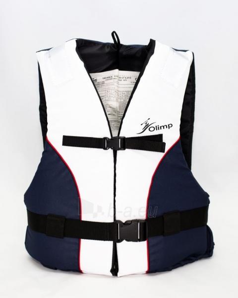 Gelbėjimosi liemenė Olimp 40N 50-60 кг, OL-BLUE-WHITE-L Paveikslėlis 1 iš 1 310820249526
