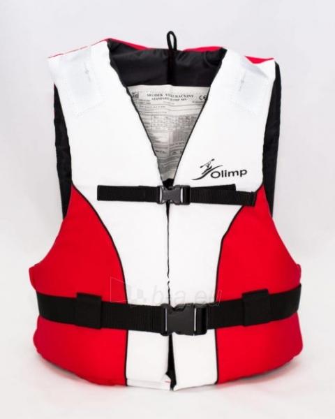 Gelbėjimosi liemenė Olimp 45N 60-70 кг, OL-WHITE-RED-XL Paveikslėlis 1 iš 1 310820249536