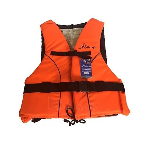Gelbėjimosi liemenė Olimp 50N 70+ кг, OL-ORANGE-XXL Paveikslėlis 1 iš 1 310820249524