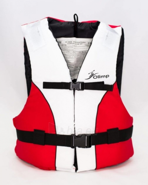 Gelbėjimosi liemenė Olimp 50N 70+ кг, OL-WHITE-RED-XXL Paveikslėlis 1 iš 1 310820249537