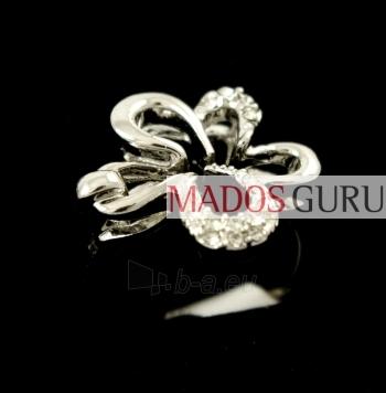 Flower form ring Z318 Paveikslėlis 1 iš 2 30070200014