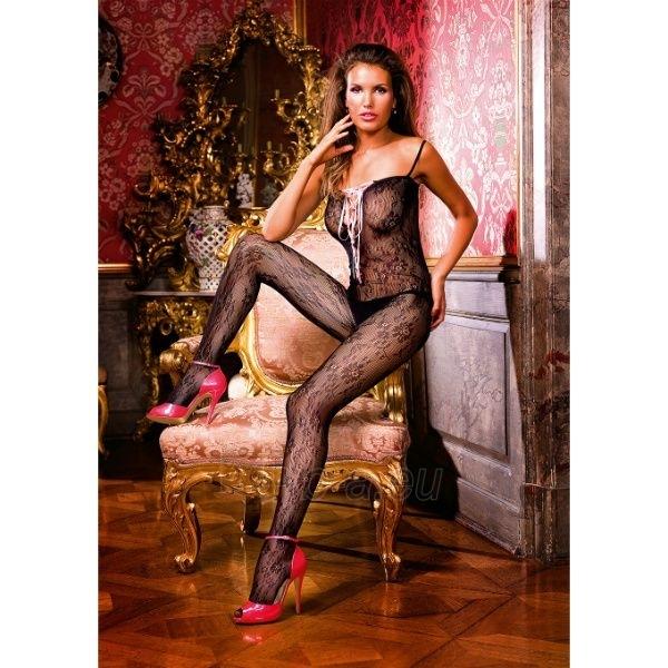 Gėlėta kūno kojinė su raišteliais Paveikslėlis 1 iš 4 25140808000503