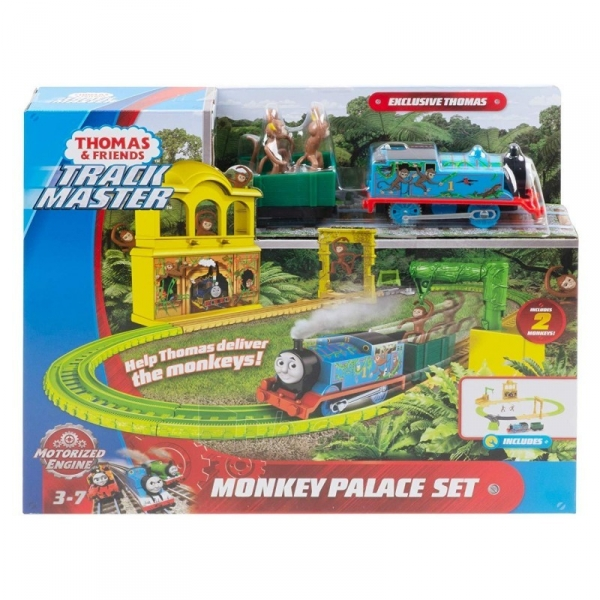 Geležinkelis FXX65 Fisher-Price Thomas And Friends Trackmaster Monkey Palace Paveikslėlis 3 iš 6 310820230583