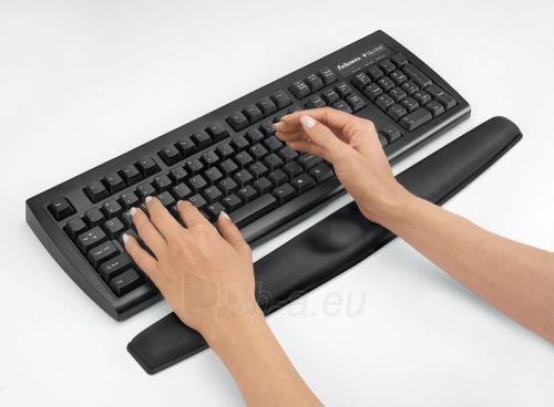 Gelinis kilimėlis klaviatūrai Fellowes Memory Foam, juodas Paveikslėlis 2 iš 2 250256600323
