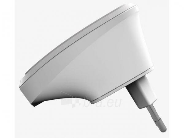 Gembird WiFi repeater, 300 Mbps LAN, white Paveikslėlis 2 iš 3 250257100348