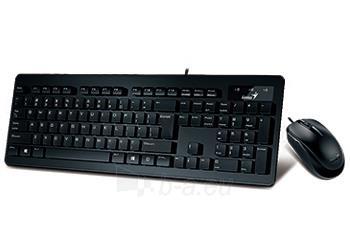 Genius keyboard SlimStar 130 + mouse, black Paveikslėlis 1 iš 2 310820001791