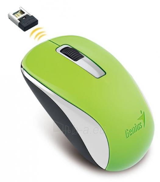 Genius optical wireless mouse NX-7005, Green Paveikslėlis 2 iš 2 310820013715