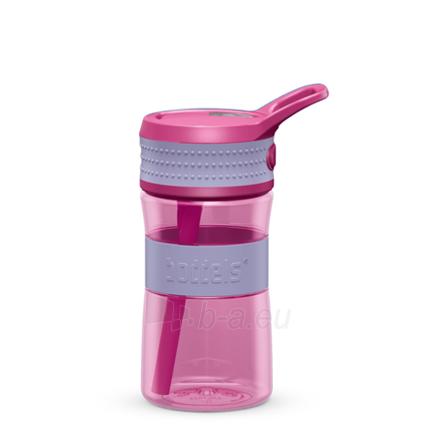 Gertuvė Boddels EEN Drinking bottle Bottle, Lavender blue/Pink, Capacity 0.4 L, Diameter 7.5 cm, Bisphenol A (BPA) free Paveikslėlis 1 iš 1 310820219660