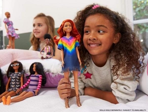 GHW55 Barbie Fashionistas Doll with Long Red Hair Wearing Fringe Dress MATTEL Paveikslėlis 2 iš 6 310820252846