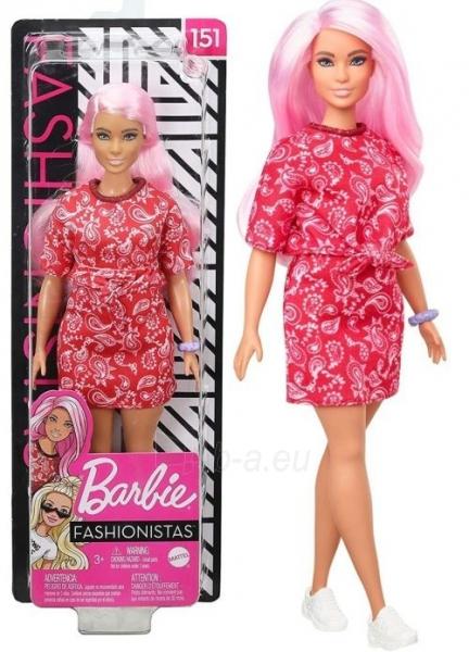 GHW65 Barbie Fashionistas MATTEL Paveikslėlis 4 iš 4 310820252928