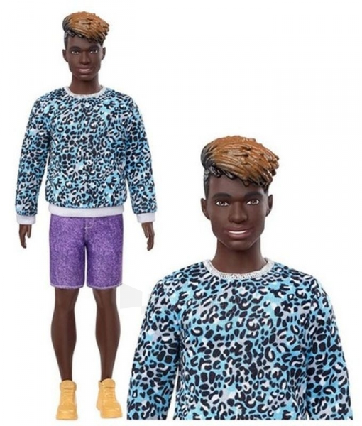 GHW69 Barbie Ken Fashionistas MATTEL Paveikslėlis 5 iš 6 310820252926