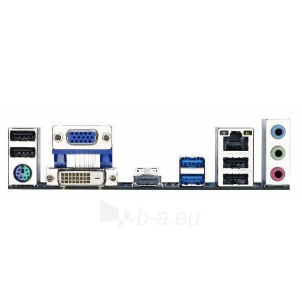 GIGABYTE GA-78LMT-USB3 / AM3+ / AMD 760G+SB710 / 4 x 1.5V DDR3 DIMM, Dual channel / Graphics: 1x D-Sub, 1xDVI-D, 1xHDMI Paveikslėlis 3 iš 4 250255050951