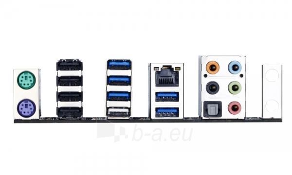 Gigabyte GA-X99-UD4, X99, QuadDDR4-2133, SATA Express, SATA3, RAID, ATX Paveikslėlis 2 iš 2 250255051643