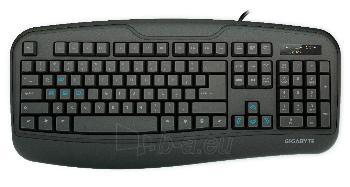 Gigabyte Gaming Keyboard Force K3, Black Paveikslėlis 1 iš 3 310820011462