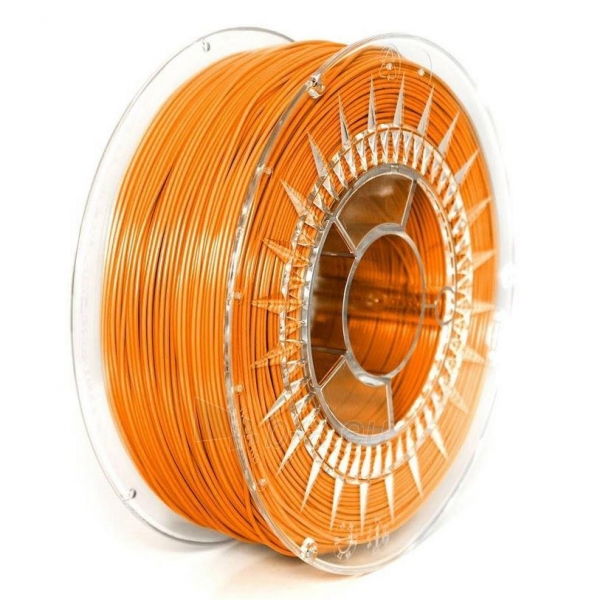 Gija Filament DEVIL DESIGN / ASA / BRIGHT ORANGE / 1,75 mm / 1 kg. Paveikslėlis 1 iš 1 310820167050