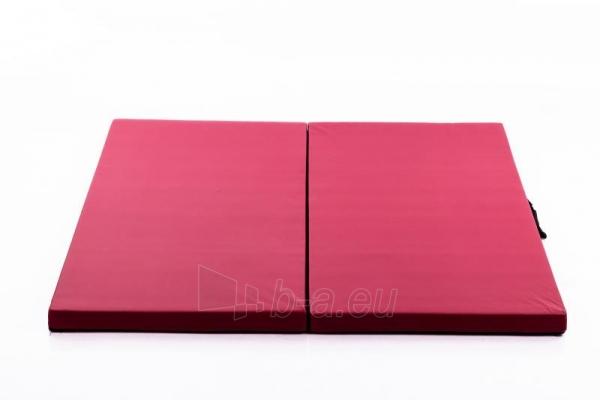 Gimnastikos čiužinys 116 x 116 cm bordo Paveikslėlis 1 iš 3 310820218615