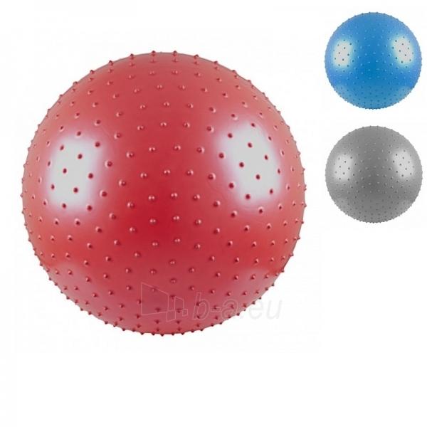 Gimnastikos ir masažo kamuolys InSPORTline 65 cm Paveikslėlis 1 iš 4 250520103024