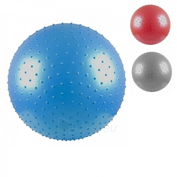 Gimnastikos ir masažo kamuolys InSPORTline 75 cm Paveikslėlis 1 iš 4 250520103025