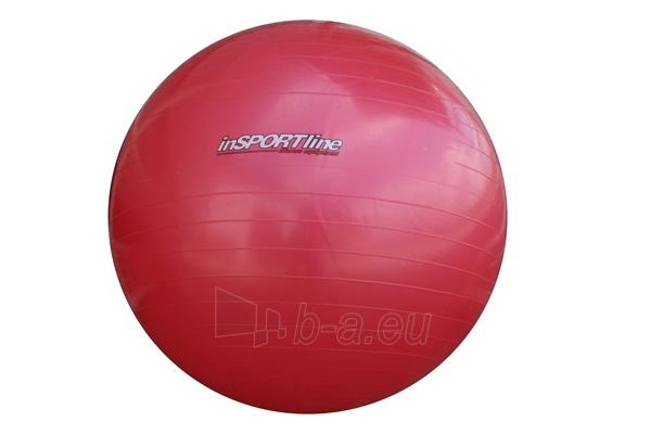 Gimnastikos kamuolys 55cm Super ball raudonas Paveikslėlis 1 iš 4 250620200057