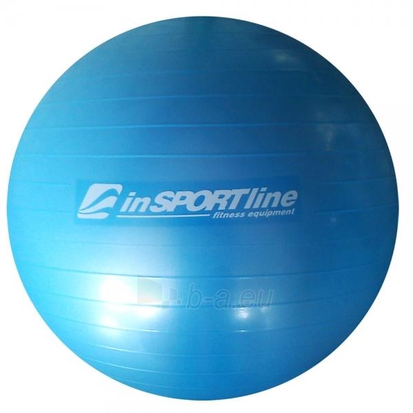 Gimnastikos kamuolys inSPORTline Comfort Ball 45 cm žydras Paveikslėlis 1 iš 2 250620200066