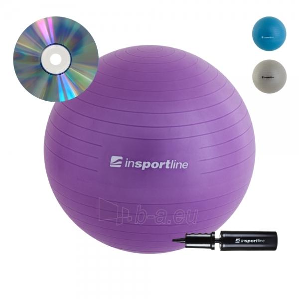 Gimnastikos kamuolys inSPORTline Comfort Ball 95 cm Paveikslėlis 1 iš 8 250520103036