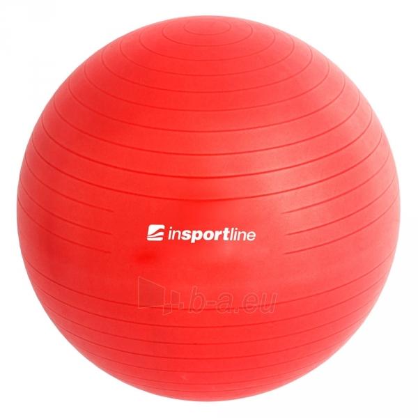 Gimnastikos kamuolys inSPORTline Top Ball 55 cm pilkas Paveikslėlis 3 iš 9 250620200085