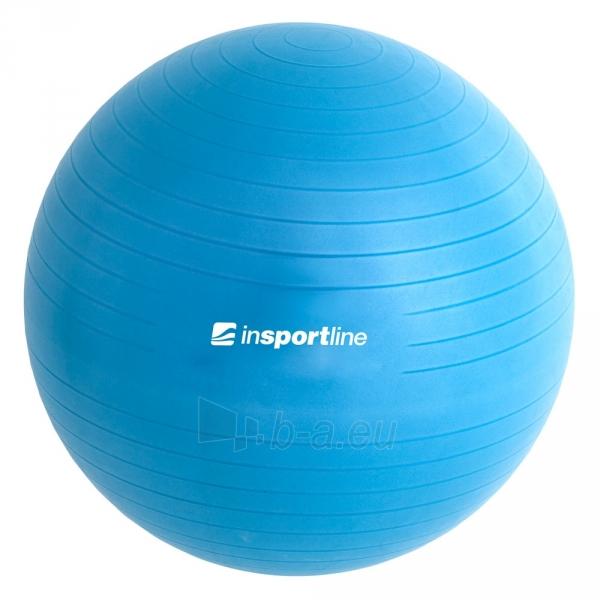 Gimnastikos kamuolys inSPORTline Top Ball 55 cm pilkas Paveikslėlis 4 iš 9 250620200085