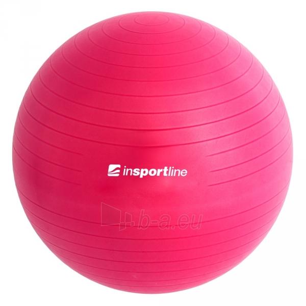 Gimnastikos kamuolys inSPORTline Top Ball 55 cm pilkas Paveikslėlis 5 iš 9 250620200085