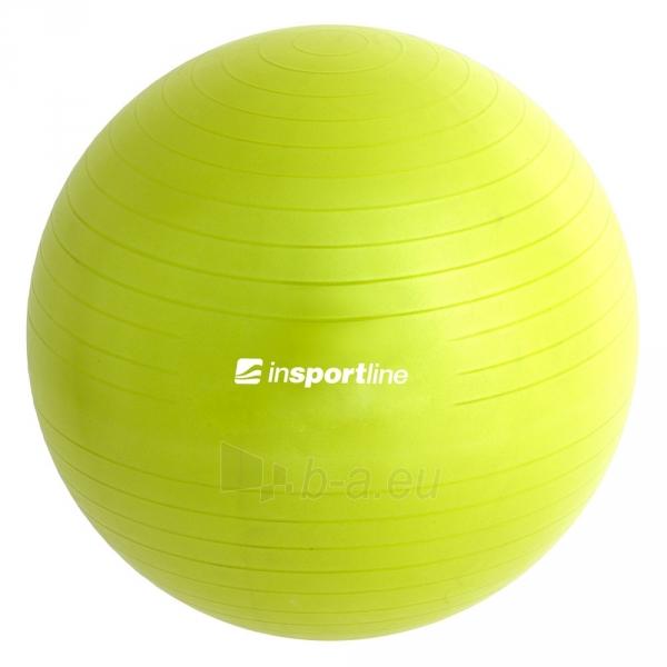 Gimnastikos kamuolys inSPORTline Top Ball 55 cm pilkas Paveikslėlis 7 iš 9 250620200085