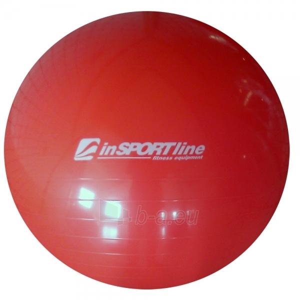 Gimnastikos kamuolys inSPORTline Top Ball 65 cm raudonas Paveikslėlis 1 iš 2 250620200089