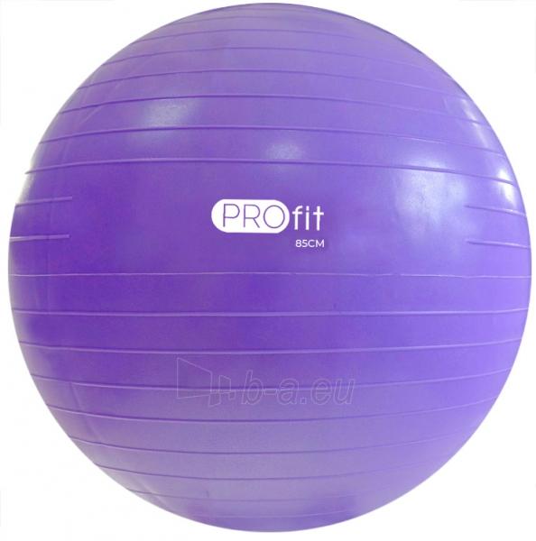 Gimnastikos kamuolys Profit 85 cm DK 2102 Paveikslėlis 1 iš 1 310820184373