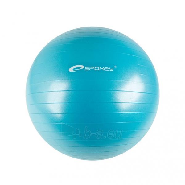 Gimnastikos kamuolys Spokey FITBALL II Blue, 65 cm Paveikslėlis 1 iš 1 310820047268