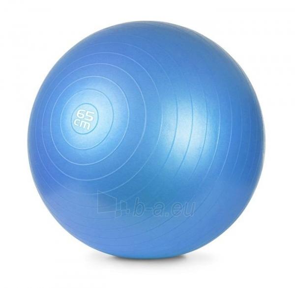 Gimnastikos kamuolys su pompa METEOR, 65 cm Paveikslėlis 2 iš 8 310820205564