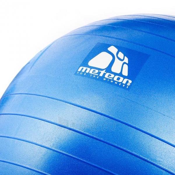 Gimnastikos kamuolys su pompa METEOR, 65 cm Paveikslėlis 3 iš 8 310820205564