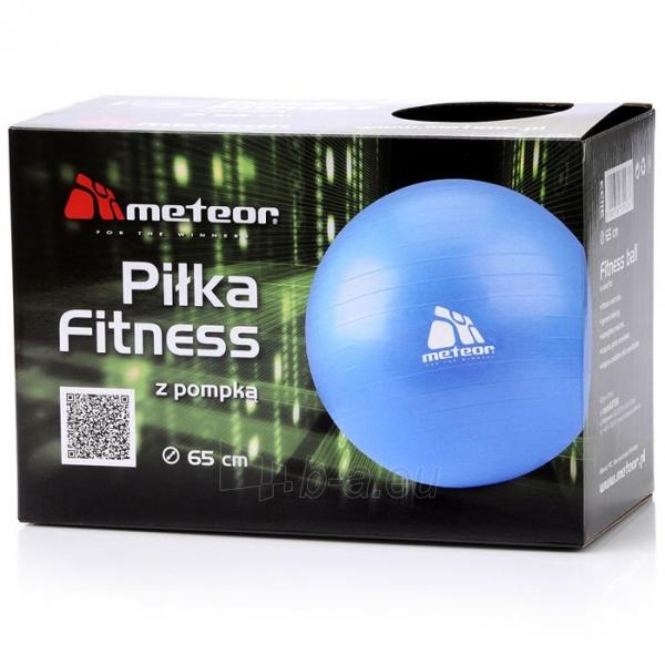 Gimnastikos kamuolys su pompa METEOR, 65 cm Paveikslėlis 5 iš 8 310820205564