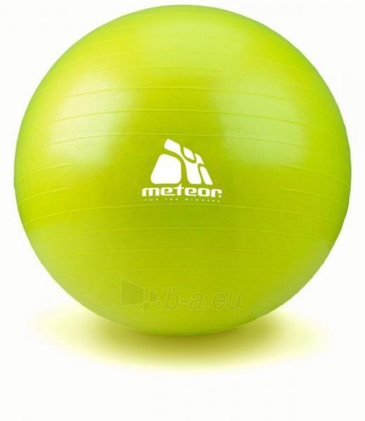 Gimnastikos kamuolys su pompa METEOR, 65 cm Paveikslėlis 7 iš 8 310820205564