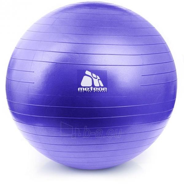 Gimnastikos kamuolys su pompa METEOR, 65 cm Paveikslėlis 8 iš 8 310820205564