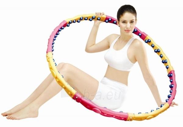 Gimnastikos lankas Health-hoop DYNAMIC W, 2.3 kg Paveikslėlis 1 iš 1 250630300168