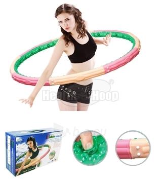 Gimnastikos lankas Health One Hoop 3.1kg Paveikslėlis 1 iš 1 310820027756
