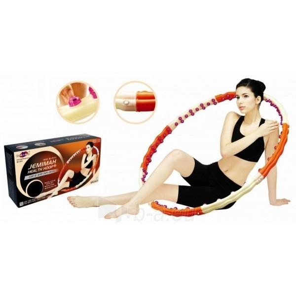 Gimnastikos lankas Jemimah Health Hoop 1,7KG Paveikslėlis 1 iš 2 310820027753