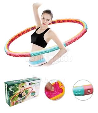 Gimnastikos lankas The Health One Hoop 2,1KG Paveikslėlis 1 iš 2 310820027754