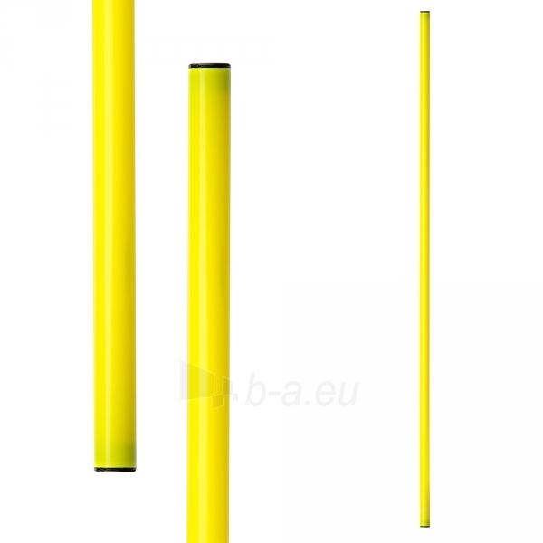 Gimnastikos lazdos METEOR 100 cm 10 vnt. geltona Paveikslėlis 1 iš 3 310820170037