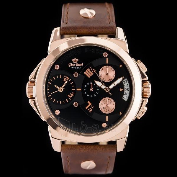 Gino Rossi laikrodis GR5240RA Paveikslėlis 1 iš 5 310820024841