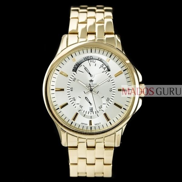 Gino Rossi laikrodis GR8005AS Paveikslėlis 1 iš 4 310820024810