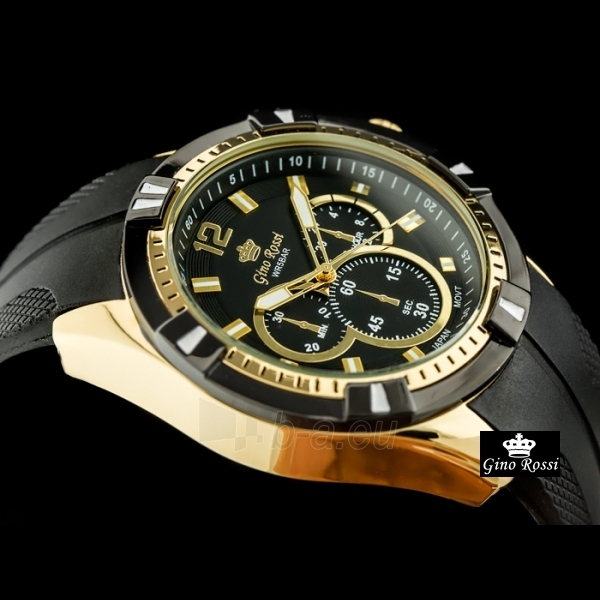 Gino Rossi pulkstenis GR9808JA Paveikslėlis 3 iš 4 310820024857